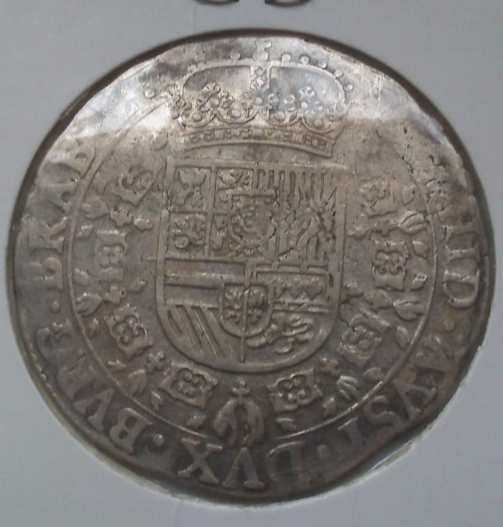 Patagón - Felipe IV 1622 PAÍSES BAJOS ESPAÑOLES-Amberes Whatsa18
