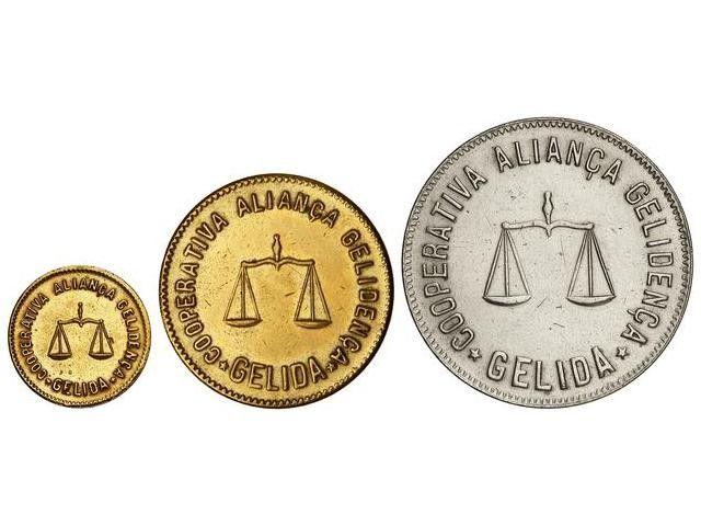 Ficha de Cooperativa - 10 céntimos de Aliança Gelidenca de Gelida 80782010