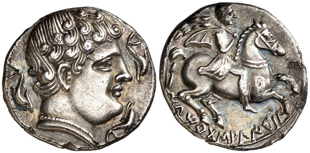 Morgantina, la primera moneda en la que aparece la alusión a Hispania - Página 2 Denari10