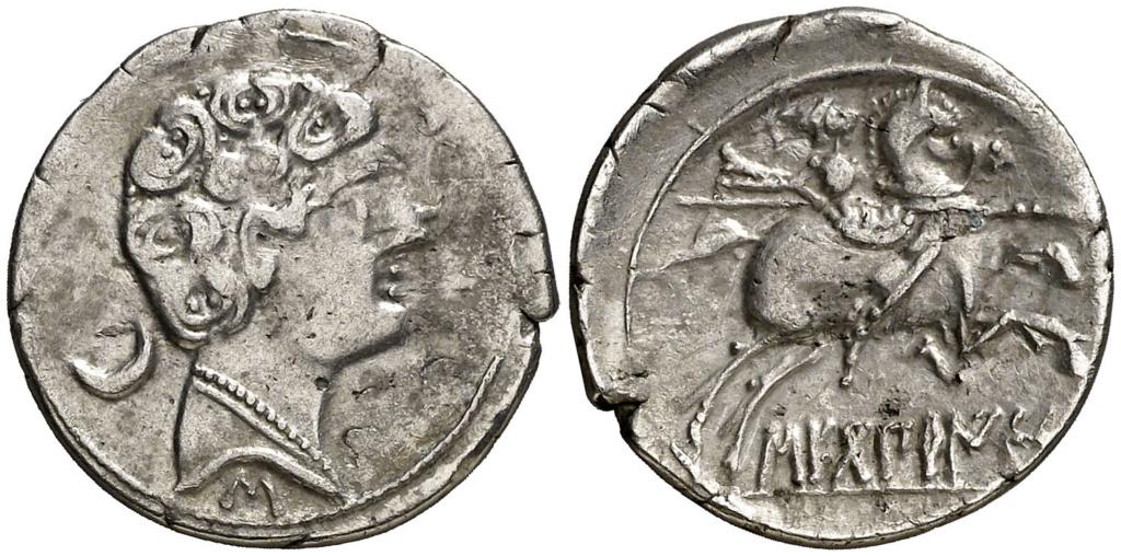 Morgantina, la primera moneda en la que aparece la alusión a Hispania - Página 2 Denari12