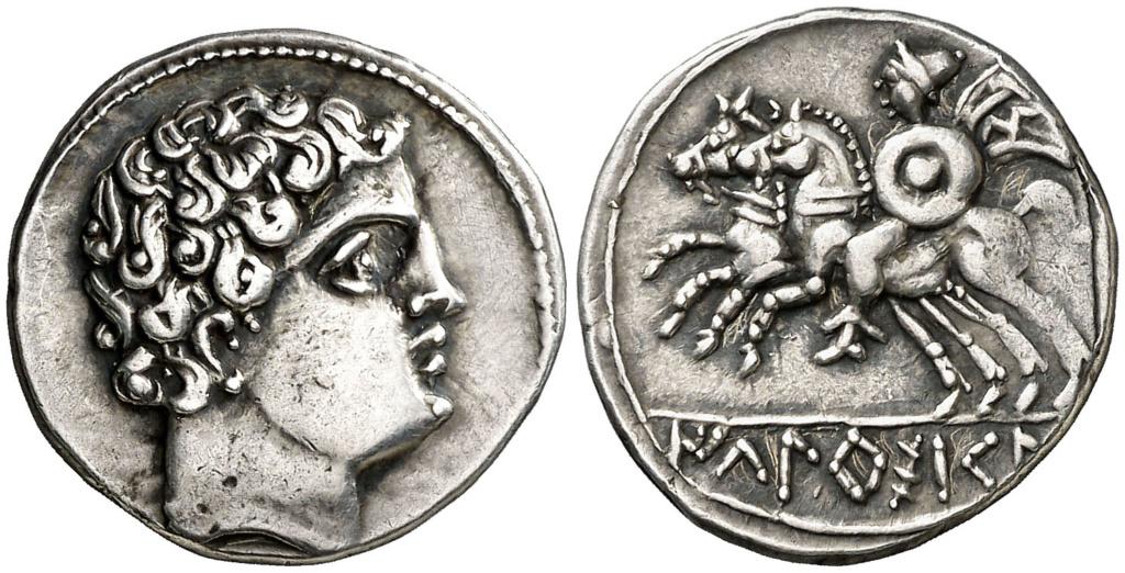 Morgantina, la primera moneda en la que aparece la alusión a Hispania - Página 2 Denari13