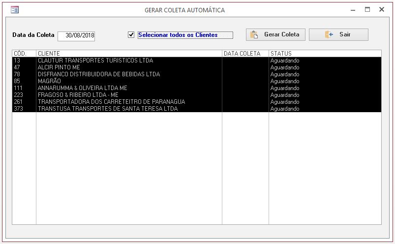 [Resolvido]Criar registro automático Coleta11