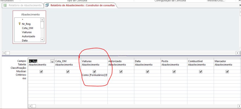 Filtro em Formulário não funciona Consul10