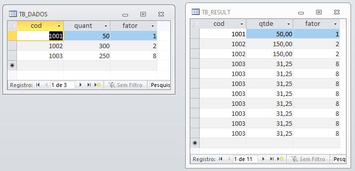 [Resolvido]Gerar quantidade de registros em uma consulta Dados10