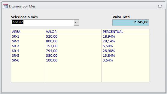 [Resolvido]Calculo de porcentagem em caixa de listagem Dizimo12