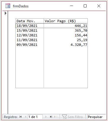 Limitar quantidade de registro em uma caixa de listagem Fmrtop10