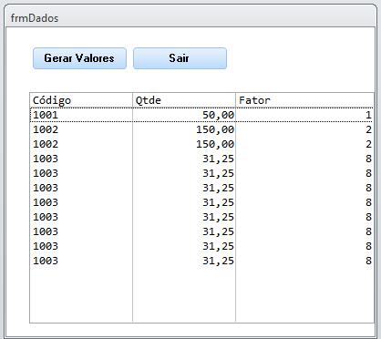 [Resolvido]Gerar quantidade de registros em uma consulta Frmdad10