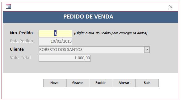 Como fazer para meu BD gerar numero de pedido após clicar no botão finalizar venda. Ped110