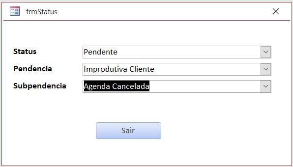 [Resolvido]Atualizar combobox dependente de outra sem reinicializar o formulário Status10