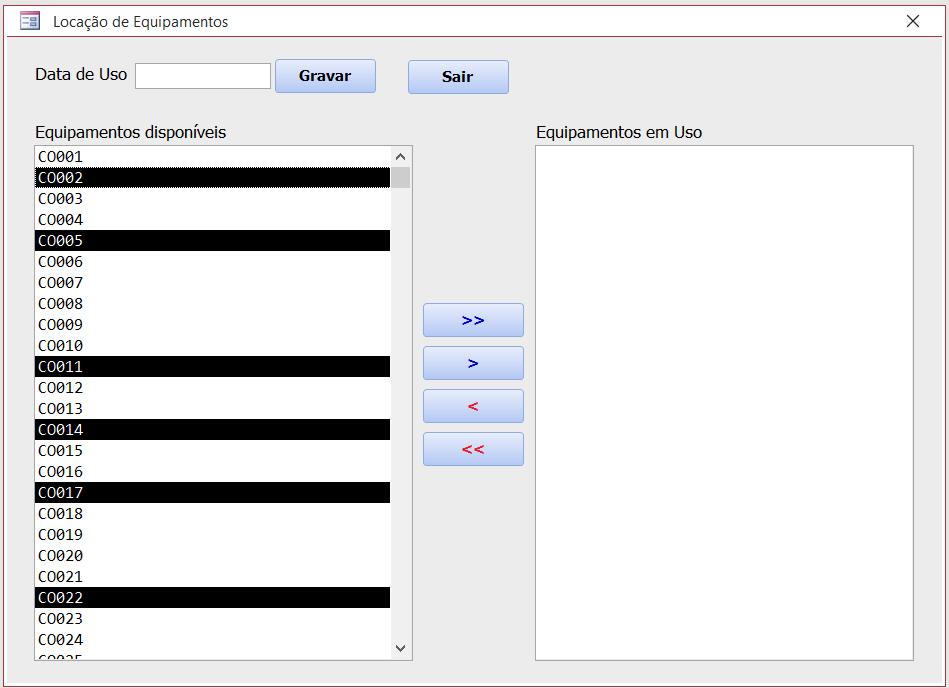 [Resolvido]Lançamentos Utilizando Caixa de Listagem Multipla Uso_eq10