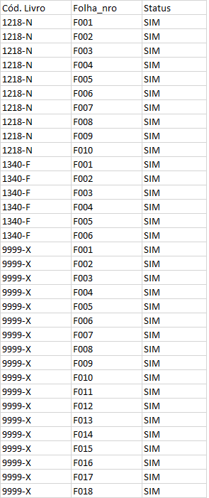 [Resolvido]Executaloop em um registro e adicionar valor em mais de um campo Vertic10
