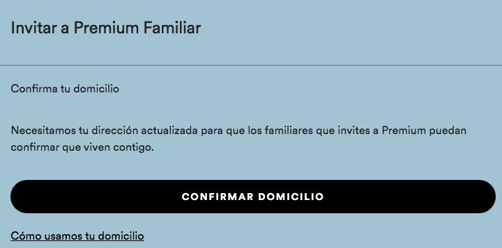 Cambio miembros Spotify Family Captur14