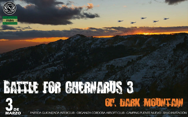 INTERCLUB BATTLE FOR CHERNARUS 3: OP. DARK MOUNTAIN | 3 de MARZO - Terreno Camping Puentenuevo Cartel11