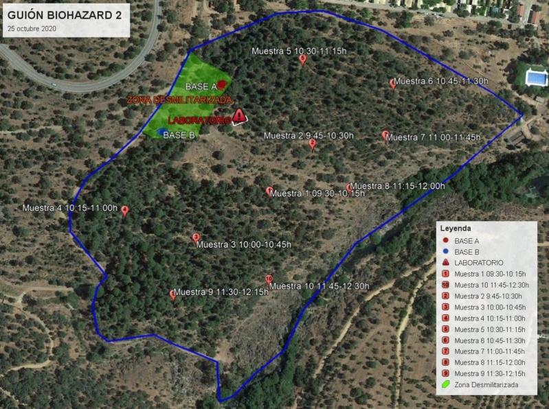 Partida guionizada.  BIOHAZARD 2.  Camping Puente Nuevo.  25 de octubre Mapa_b10