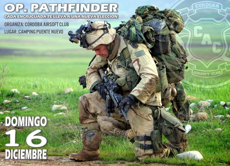 PARTIDA ABIERTA. OP. PATHFINDER. | Camping Puente Nuevo.  16 de diciembre 2018. Op_pat11