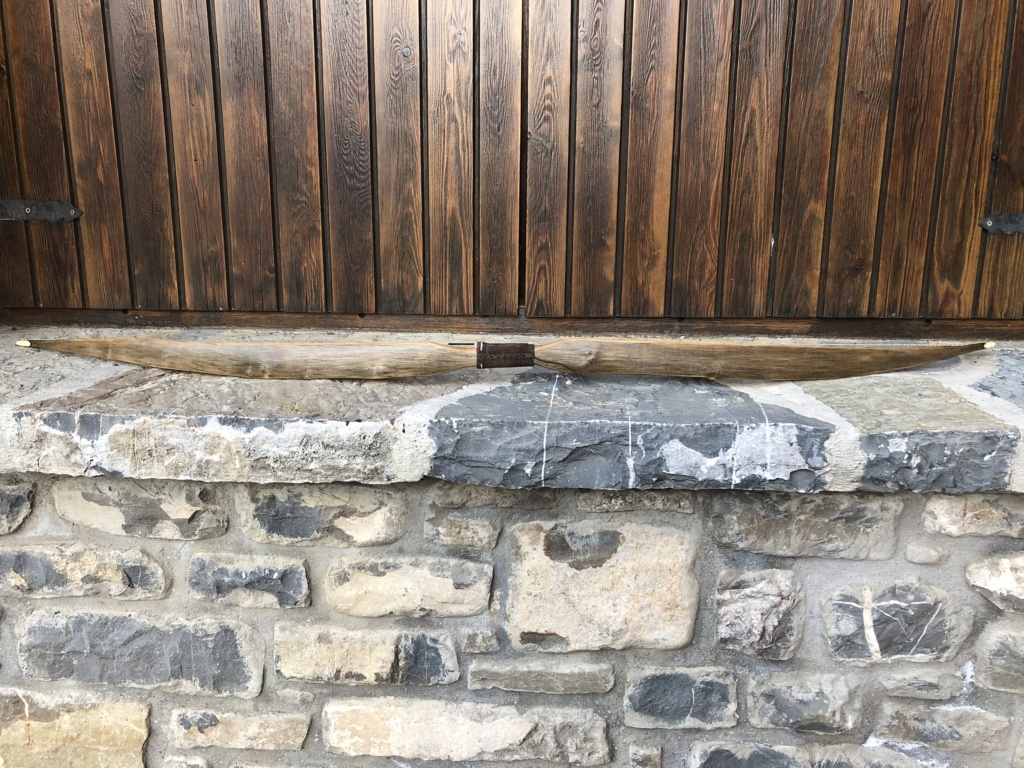 Arco de fresno. Intercambio de arcos 2019 gabriel87  Img_5315