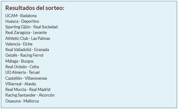 1/16 Copa del Rey Sorteo11
