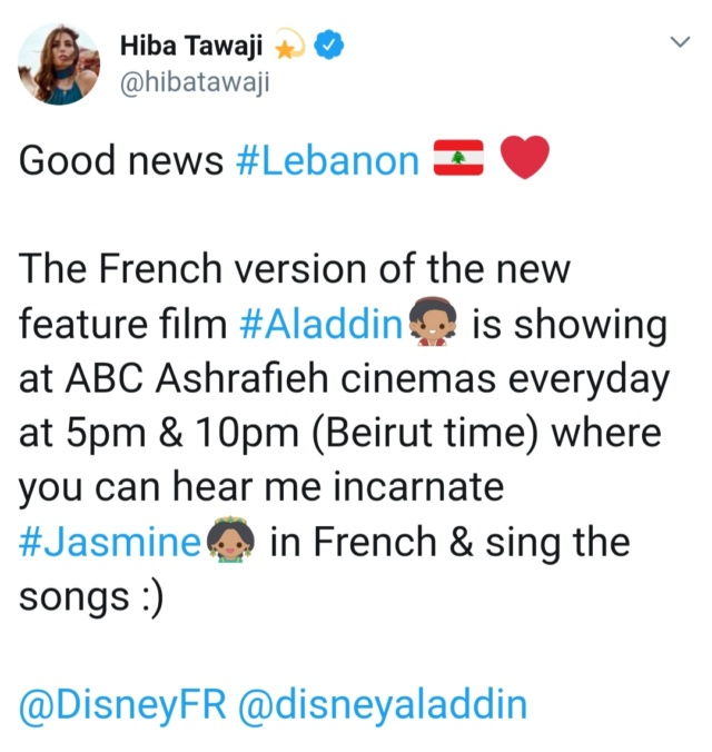 Aladdin [Disney - 2019] - Page 37 20190514