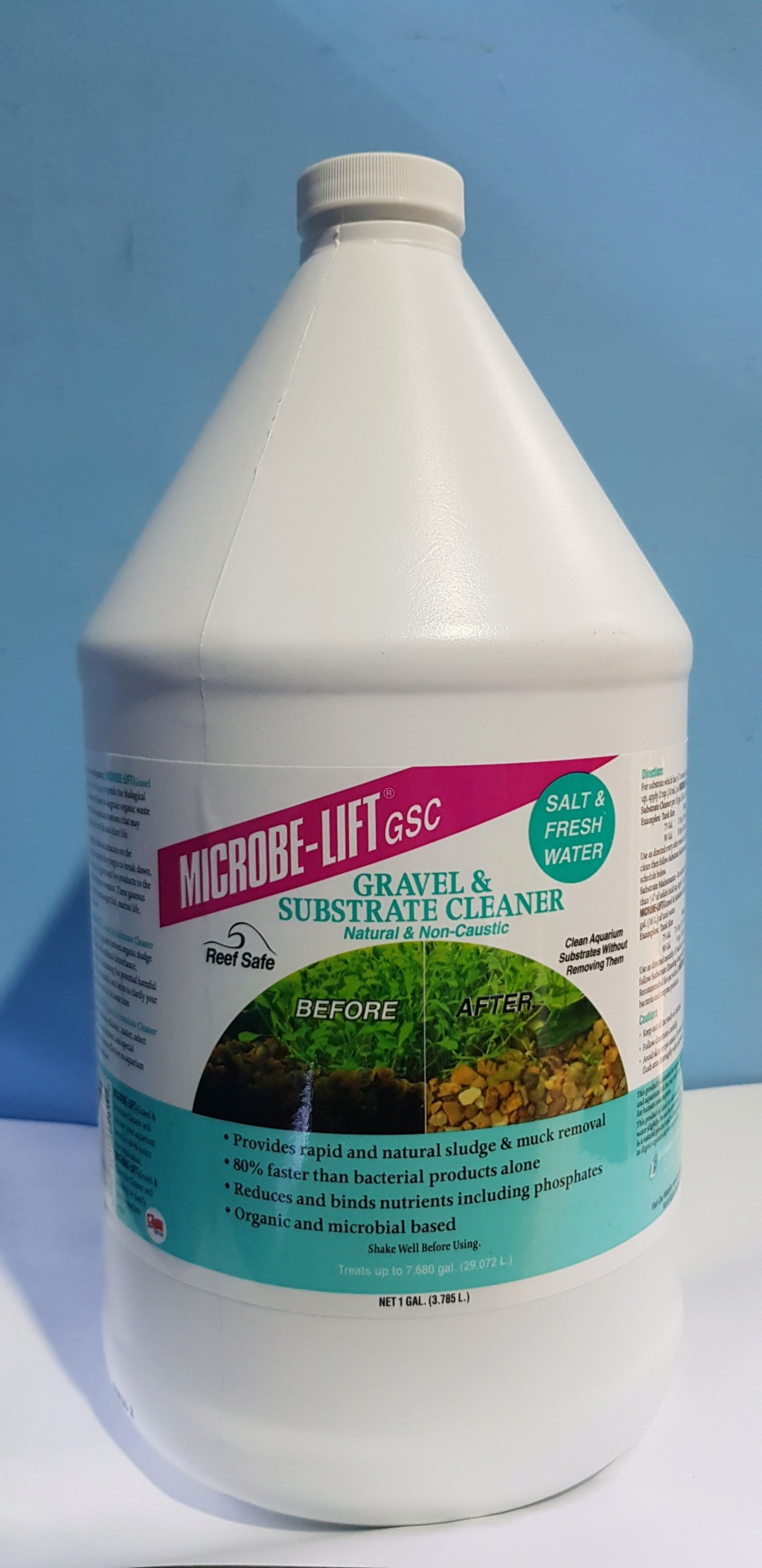 Microbe-Lift Gravel And Substrate Cleaner 1Gal  20180513