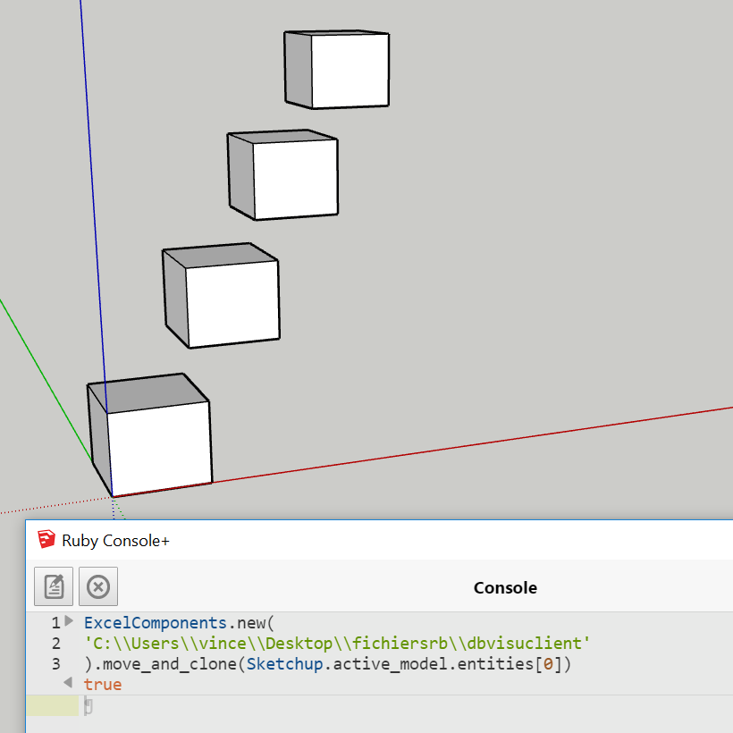 [ Ruby ] Automatisation sketchup grace à excel - Page 2 Clonag10