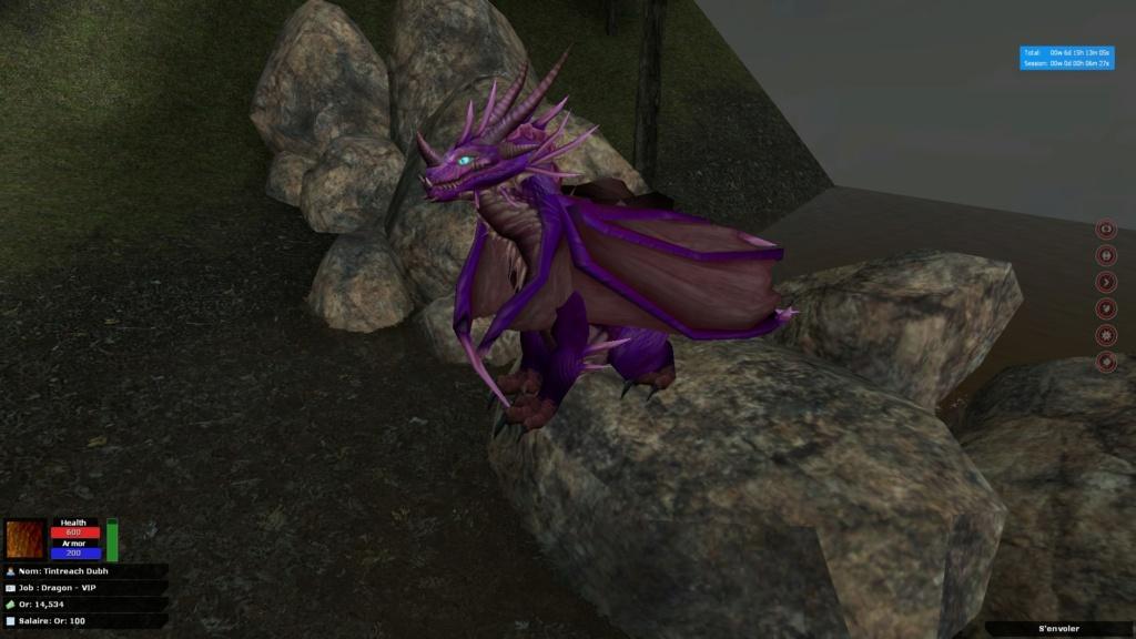 Nimhe, Reithe et Tintreach (Dragons). Dragon12