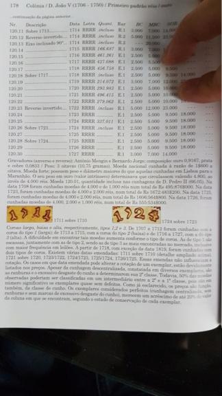 4000 Reis Ioannes V 1707 20201010