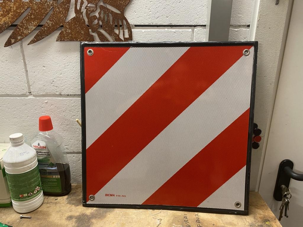 Panneau de signalisation pour remorque moto  227c8c10
