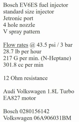Injecteurs BOSCH pour 899 et 1130 à 30€ Captur12