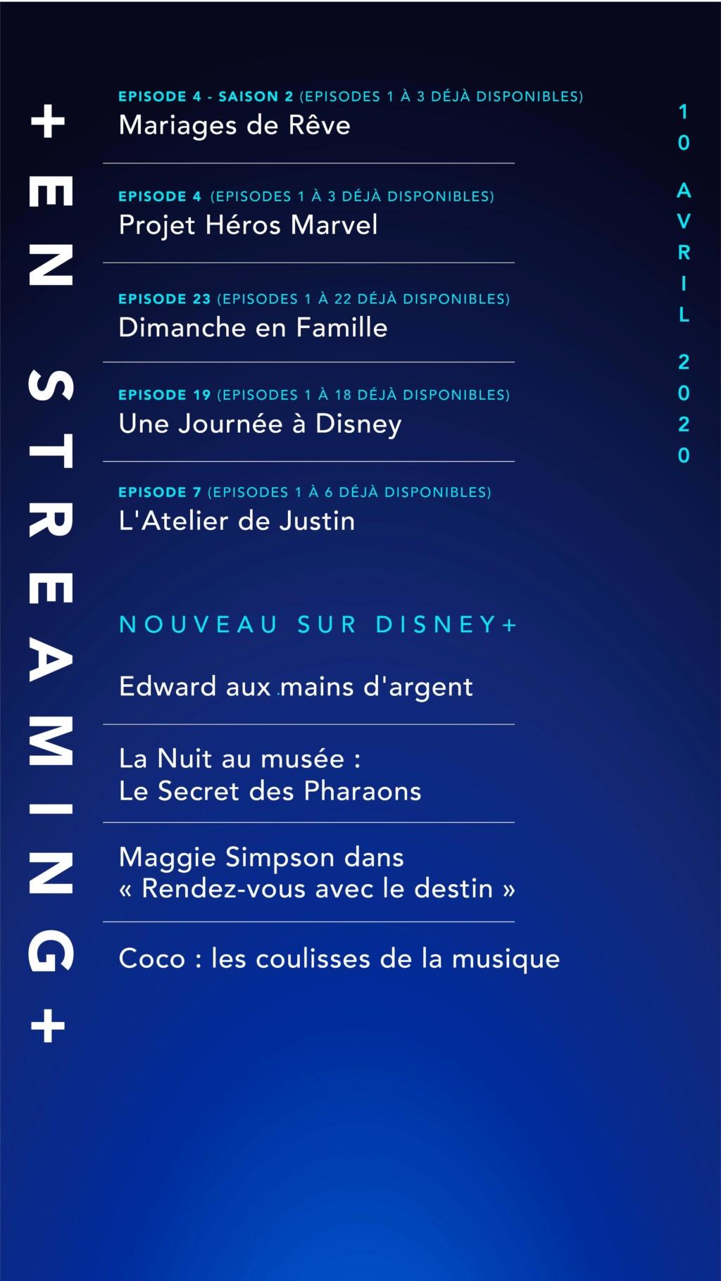 Nouveau sur Disney+ : les ajouts de chaque semaine 211