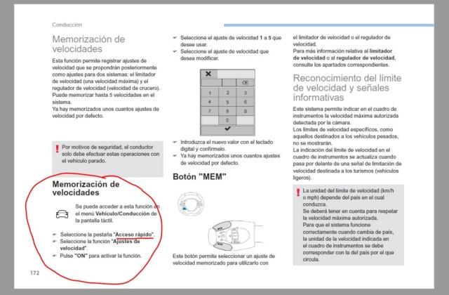 Memorización de velocidades Memo_v11