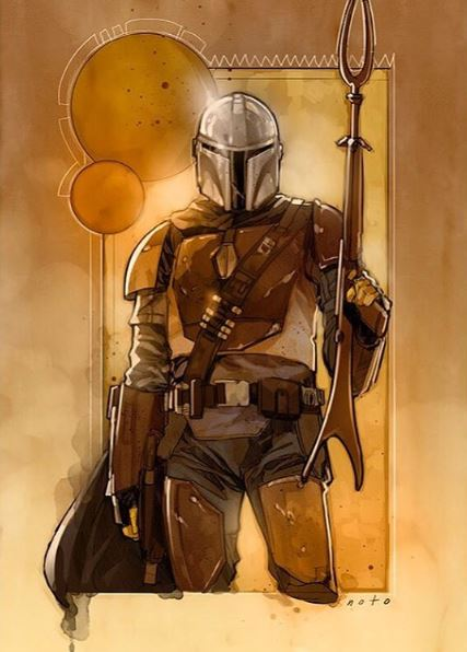 The Mandalorian, Disney+ - Page 2 Mandal10