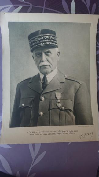 Portrait du maréchal Pétain vichy Dsc_1428