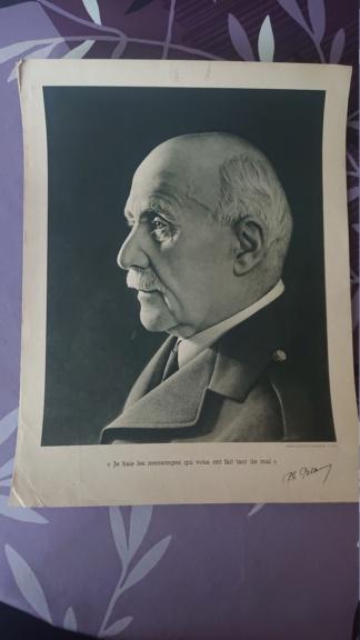 Portrait du maréchal Pétain vichy Dsc_1429