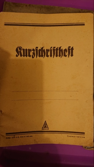 Papier allemand ww2  Dsc_2023