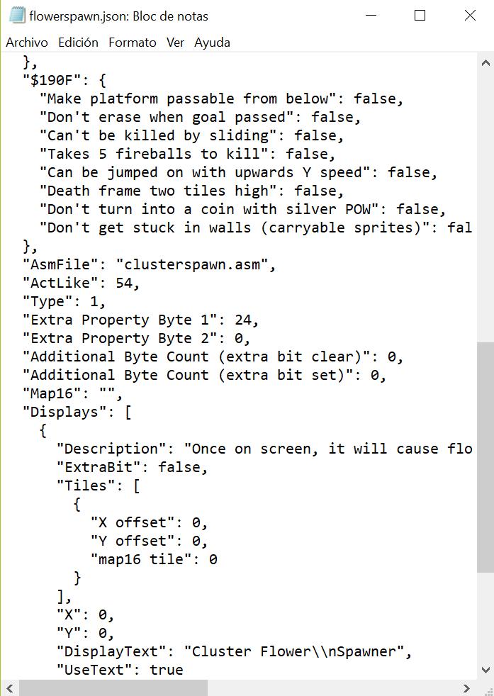 Problema con cluster sprite Sin_tz11
