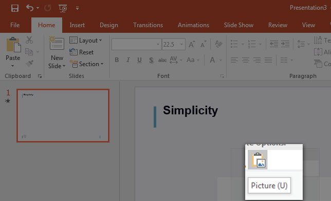 How to Insert Images in PowerPoint 111