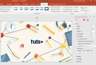 How to Resize Images in PowerPoint 310