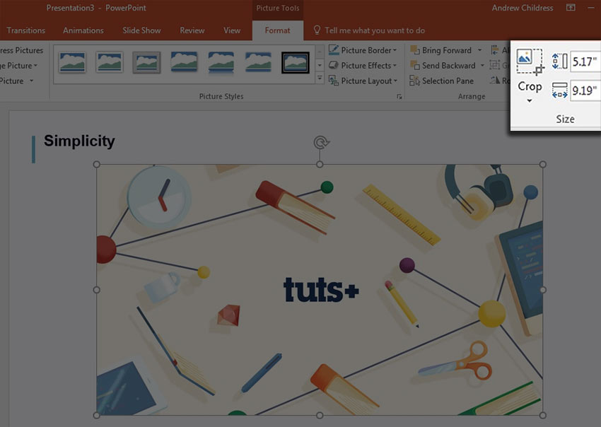 How to Crop a Picture in PowerPoint 610