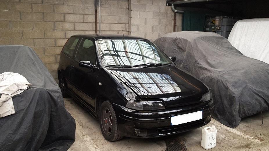 Fiat Punto gt Noire phase 2 de 95 Inked210