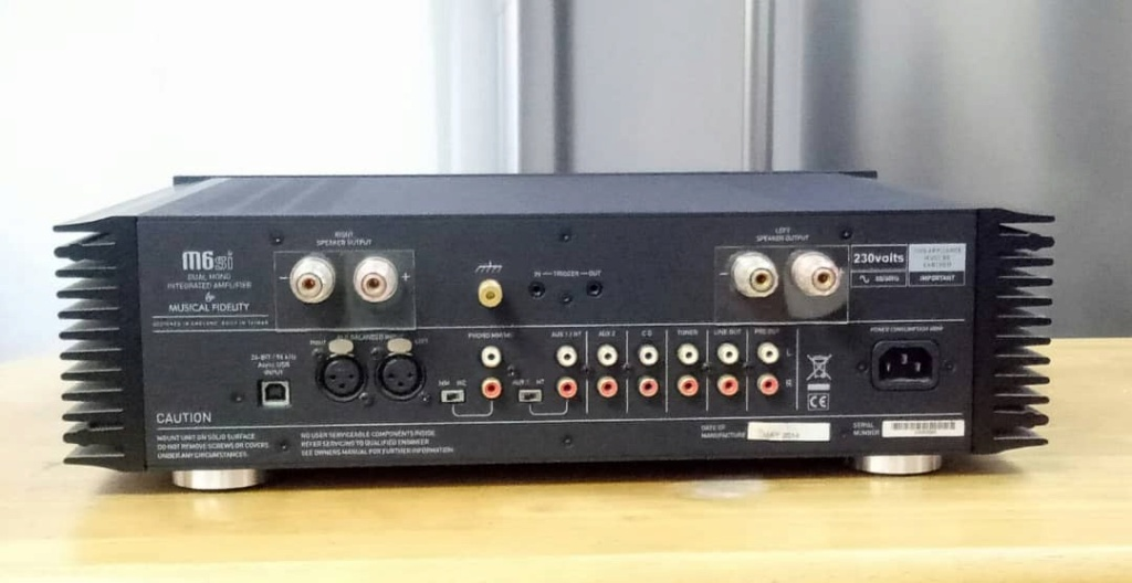 Musical Fidelity M6si Integrated Amplifier sold Whatsa20