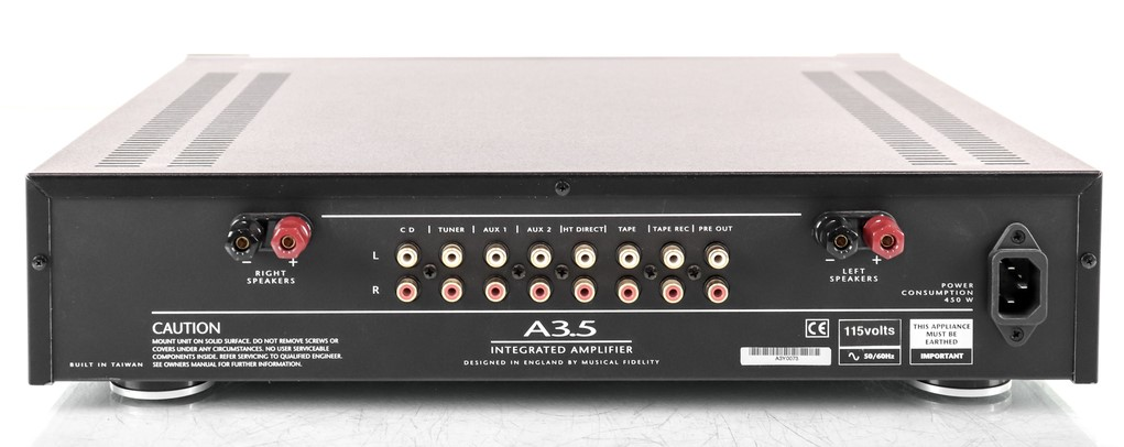 Musical Fidelity A3.5 intergrated amp sold Whatsa27