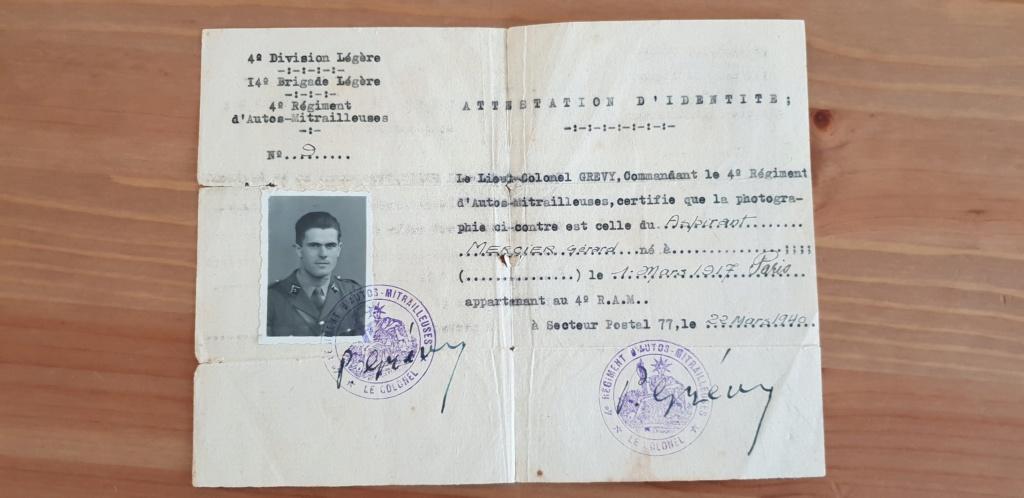 Recherches sur le Lieutenant Gérard Mercier, 12e Cuirs 20181110