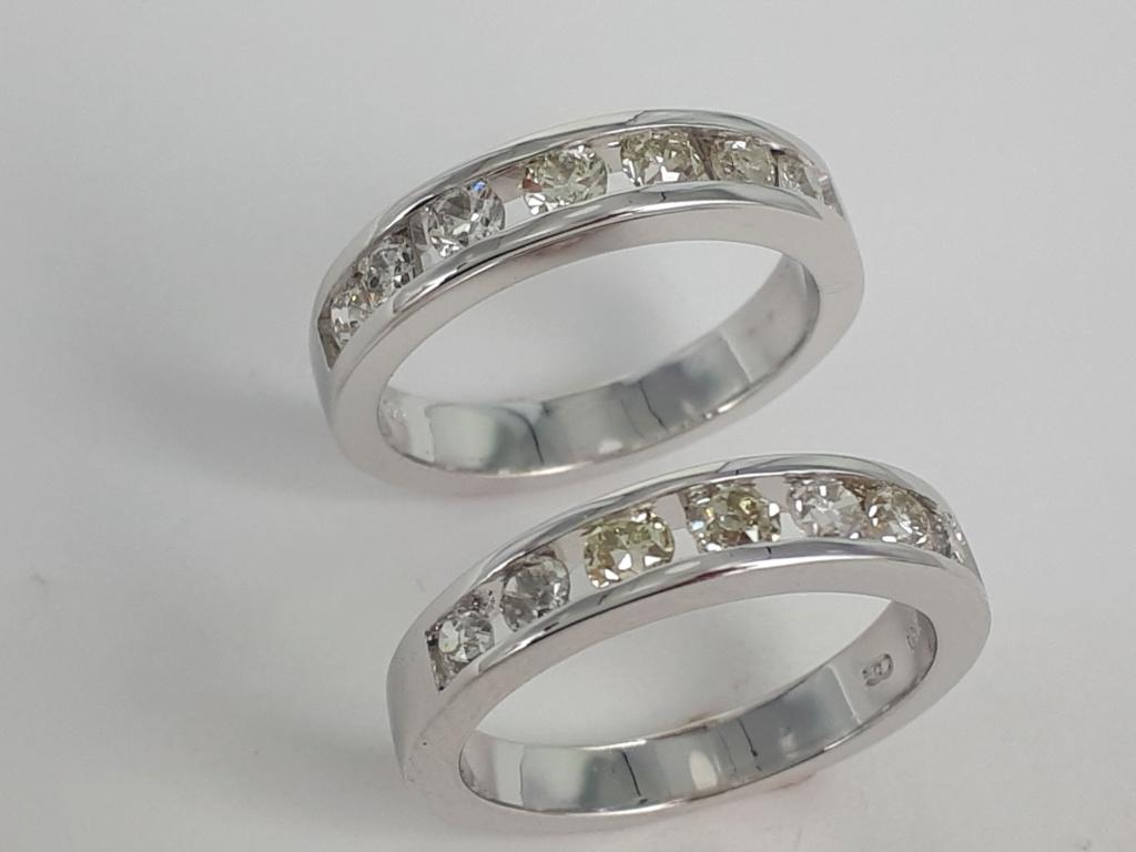 Bague diamants et or blanc 20190127