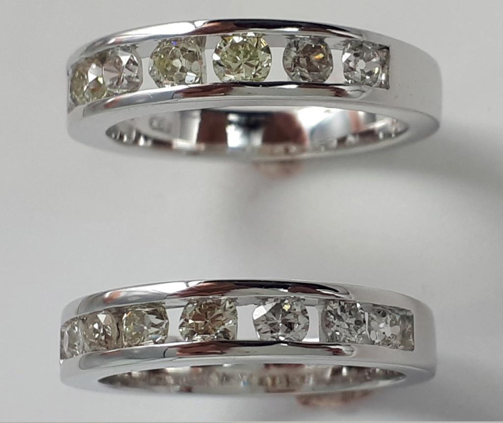 Bague diamants et or blanc 20190129