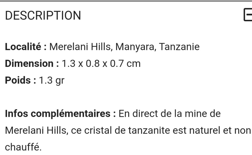 Taille d'une tanzanite - 2.51 ct Screen34