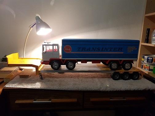Os presento mi Scania y mi portacoches  20181219