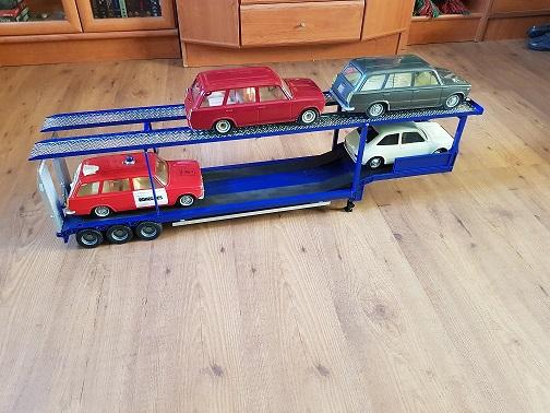 Os presento mi Scania y mi portacoches  20190119