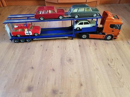 Os presento mi Scania y mi portacoches  20190121