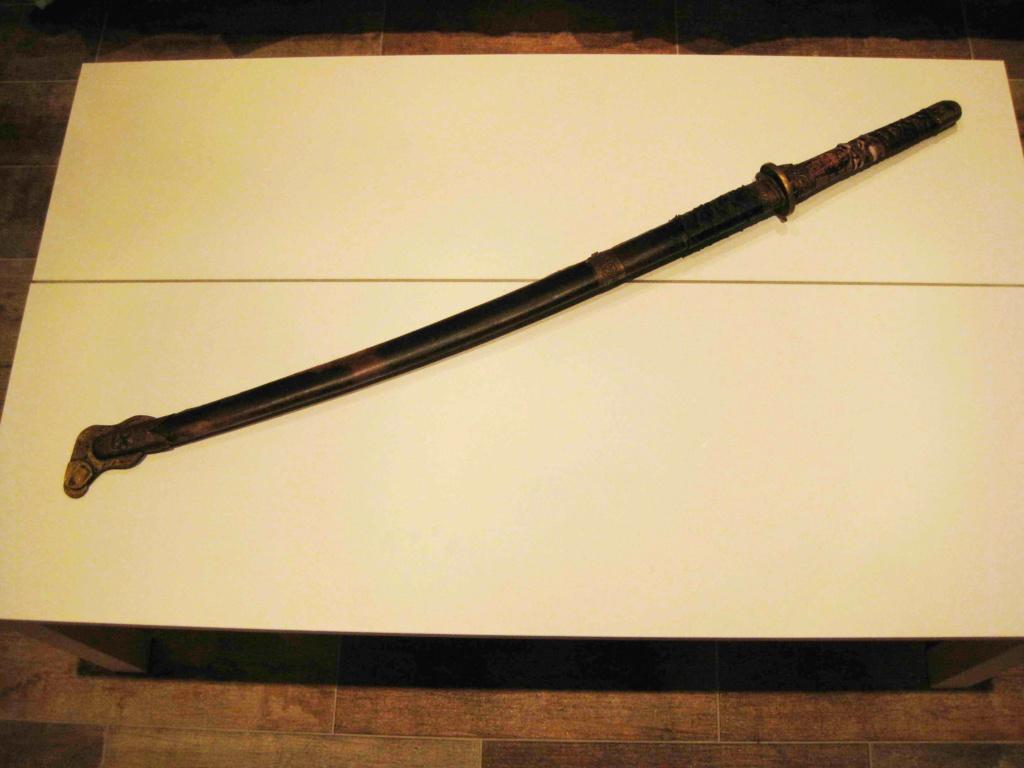 sabre chinois, roue dans le dard de la bouterolle Katana12