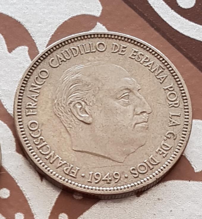 5 pesetas de 1949 *51 20190110